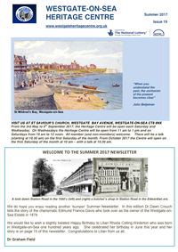 Latest edition of the Heritage Centre Newsletter